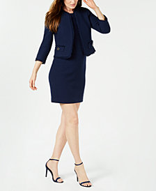 Anne Klein Tweed Jacket & Sheath Dress