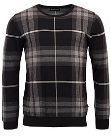 Barbour Men's Tartan-Plaid Jacquard Sweater