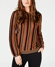 Marella Betel Striped Metallic Sweater