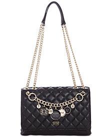 GUESS Victoria Chain Shoulder Bag