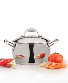 BergHoff Zeno 11-qt Stainless Steel Covered Stockpot