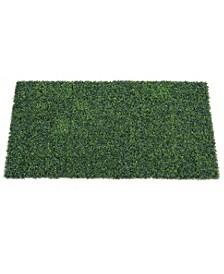 """50"""" X 100"""" Artificial Green Boxwood Matt"""