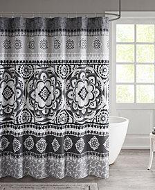 "510 Design Neda 72"" x 72"" Printed Shower Curtain"