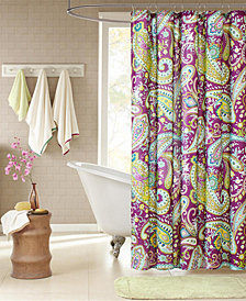 "Intelligent Design Melissa 72"" x 72"" Shower Curtain"