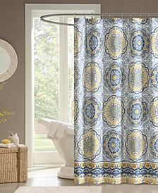 """Tangiers 72"""" x 72"""" Shower Curtain"""