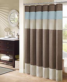 "Madison Park Trinity 72"" x 72"" Shower Curtain"