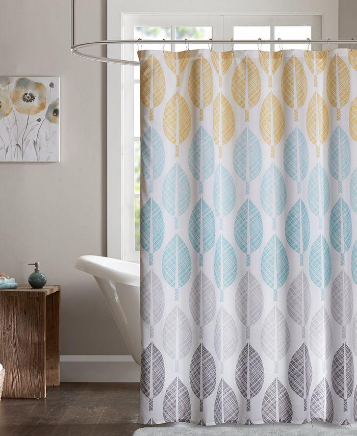 "Madison Park - Central Park 72"" x 72"" Printed Shower Curtain"