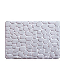 Madison Park Essentials Pebble Embossed Memory Foam Bath Rugs