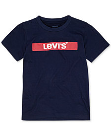 Levi's® Toddler Boys Logo-Print Cotton T-Shirt