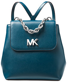 MICHAEL Michael Kors Mott Chain Leather Backpack