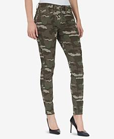Jane Skinny Camo Cargo Pants