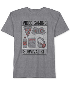Jem Big Boys Survival Kit Graphic T-Shirt