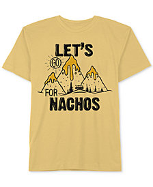 Jem Big Boys Go Nachos Cotton T-Shirt