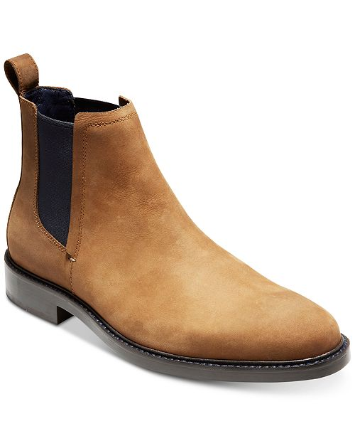 5f62a1262d0 Cole Haan Men's Kennedy Grand Waterproof Chelsea Boots ...