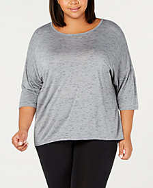 Ideology Plus Size T-Shirt, Created for Macy's