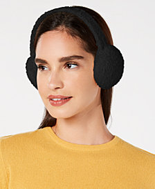 I.N.C. Chenille Earmuffs, Created for Macy's