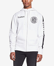 DKNY Men's Logo Full-Zip Hoodie, Created for Macy's