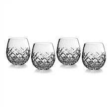 Eastbridge Stemless Red Wine, Set of 4