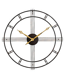 Emmaline Round Wall Clock