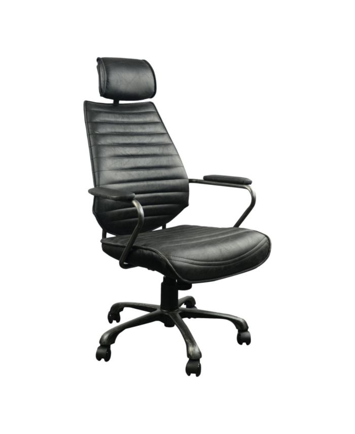 Moe's Home Collection Executive Office Chair Black & Reviews - Home - Macy's