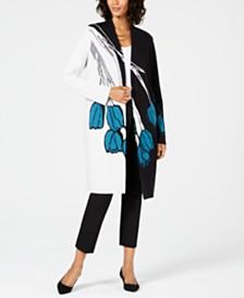 Alfani Colorblocked Cardigan & Slim-Fit Pants, Created for Macy's