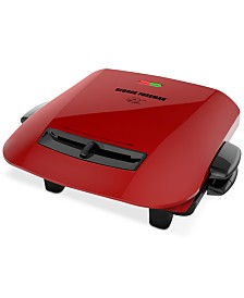 George Foreman 5-Serving Removable Plate Grill & Panini Press