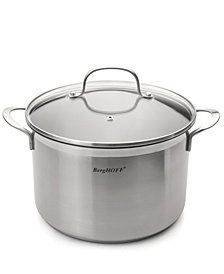 BergHoff Bistro 6.3-qt Stainless Steel Covered Stockpot