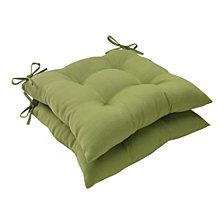 Forsyth Kiwi Wrought Iron Seat Cushion, Set of 2