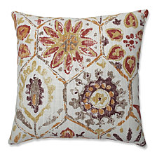 "Antique Stone Spice 16.5"" Throw Pillow"