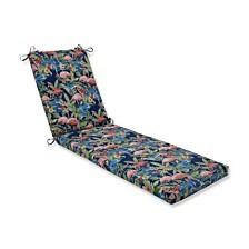 Flamingoing Lagoon Chaise Lounge Cushion