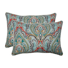 Pretty Witty Reef Over-sized Rectangular Throw Pillow, Set of 2