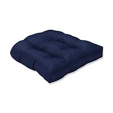 Sonoma Navy Wicker Seat Cushion