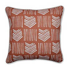 """Whythe Coral 16.5"""" Throw Pillow"""