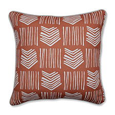 "Whythe Coral 16.5"" Throw Pillow"