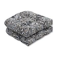 Corinthian Driftwood Wicker Seat Cushion, Set of 2