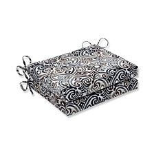 Corinthian Driftwood Squared Corners Seat Cushion, Set of 2