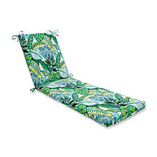 Aruba Jungle Green Chaise Lounge Cushion