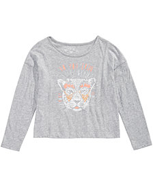 Roxy Toddler Girls Long-Sleeve Cotton T-Shirt