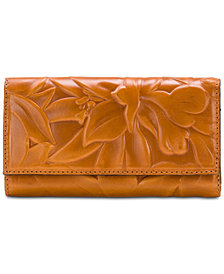 Patricia Nash Teresa Floral Embossed Leather Wallet
