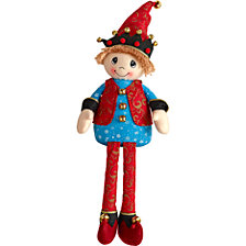 Elf Fabric Shelf Sitter