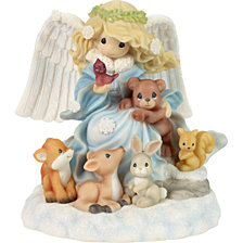 Precious Moments Joy To The Word Angel Music Box