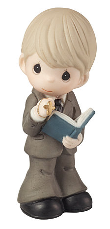 This Is The Day The Lord Has Made Communion Figurine, Boy