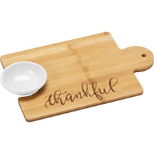 Bountiful Blessings by Thankful Puzzle Piece Cutting Board