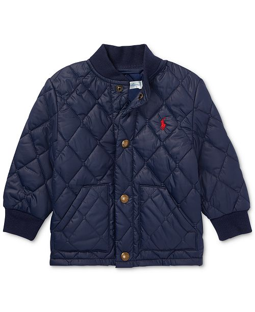 47fd8e5ad Polo Ralph Lauren Ralph Lauren Baby Boys Quilted Baseball Jacket ...