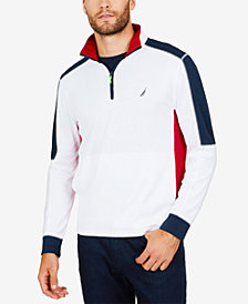 Nautica Men's Colorblocked Half-Zip Pullover