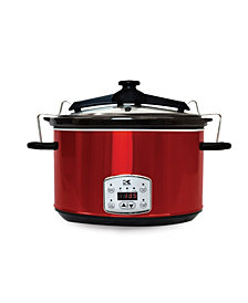 Kalorik 8 Qt. Digital Slow Cooker with Locking Lid