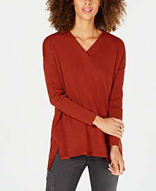 Style & Co High-low Over-sized Tunic Top, Created for Macy's