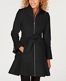 Belted Skirted Walker Coat