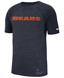 Nike Men's Chicago Bears Marled Raglan T-Shirt