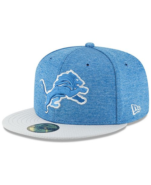 3f5ad392334 ... FITTED Cap  New Era Boys  Detroit Lions On Field Sideline Home 59FIFTY  FITTED ...